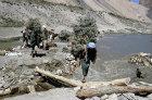 Afghanistan, a vital bridge down on the track to Band-I-Amir