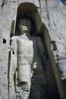 Afghanistan, Bamiyan, the big Buddha destroyed by the Taliban soldiers in 2001