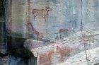 Tsodilo Hillsrock paintings sacred place to the Bushman