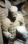 Terracotta Warrior, late third century BC, buried with Qin Shi Huang, first emperor of China, Xi