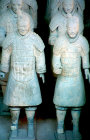 Terracotta Warriors, late third century BC, buried with Qin Shi Huang, first emperor of China, Xi