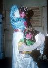 Chinese opera actors, Kwangchow, (Canton), China