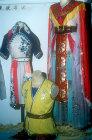 Opera costumes, Chinese Opera, Kwangchow, (Canton), China