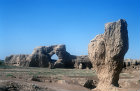 Ruins of famous city of Kaochang, founded 450 AD, ancient capital of the Uyghurs, China