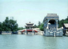 Summer Palace and marble boat, Beijing, China