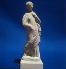Tanagra figure 4th century BC Cyprus