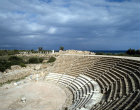 Theatre dating from reign of Augustus, 27 BC to AD 14, Salamis, Cyprus