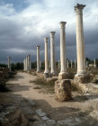 South portico of the Palaestra, second century AD, Salamis, Kibris, Northern Cyprus