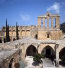 Bellapais Abbey, 12th to 13th century, bell tower, Northern Cyprus