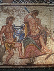 Triumph of Dionysus 3rd century AD mosaic from Roman Villa Paphos Cyprus