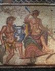 Triumph of Dionysus 3rd century AD mosaic from Roman Villa Paphos Cyprus