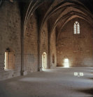 Bellapais Abbey, fourteenth century refectory, Northern Cyprus