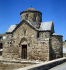 Cyprus, the Church of St James, 15th century at  Iskele (Trikomo)