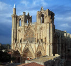 Cathedral of St Nicholas, fourteenth century, Famagusta, Cyprus
