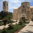 Cyprus, the Greek Orthodox Church at St Barnabas Monastery near Salamis