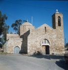 Paphos Cyprus Church of the  Blessed Virgin Mary of the Golden City