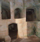 Paphos Cyprus Tomb of the Kings 3rd and 4th century BC