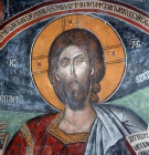 Cyprus, St Neophytos Monastery, the Head of Christ 1503 AD