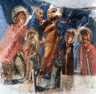 Cyprus, St Neophytos Monastery, the Anastasis  1183 AD