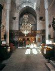 Cyprus, Monastery of St Barnabas near Salamis, interior of church
