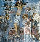 Cyprus, St Neophytos Monastery, the Crucifixion