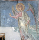 Cyprus, the Annunciation by the Archangel Gabriel,  St Neophytos Monastery  near Paphos