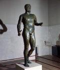 Paphos Cyprus Bronze statue of Septimus Severus 193-211 AD