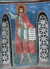 Daniel, one of twelve prophets, 1192, dome, Church of Panagia Tou Arakou, Lagoudera Monastery, Cyprus