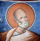 Jonah, one of twelve prophets, 1192, dome of the Church of Panagia Tou Arakou, Lagoudera Monastery, Cyprus