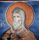 Elijah, one of twelve prophets, 1192, dome, Church of Panagia Tou Arakou, Lagoudera Monastery, Cyprus