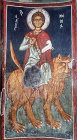 Cyprus, Asinou, St Mammas, 14th century mural in Church of the Pastures of our Lady