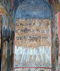 Cyprus, Asinou, the Forty Martyrs of Sebaste a mural in the Church of Panagia Phorbiotissa  1105-05 AD