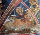 Cyprus, Asinou,  Church of of our Lady of the Pastures, Last Judgement, personification of the land