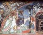 Cyprus, Asinou Church, the Entry into Jerusalem 1105-06C AD