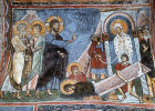 Cyprus, Asinou Church, the Raising of Lazarus  1105-06 AD