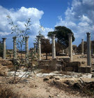 Palaestra, a wrestling school, dating from  the second century, Salamis, Northern Cyprus