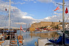 Medieval harbour and castle, Kyrenia, Northern Cyprus