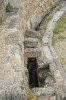 Forty four seat Roman latrine beside gymnasium, Salamis, Northern Cyprus