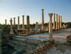 Palaestra, a wrestling school,  east portico, dating from the second century, Salamis, Northern Cyprus
