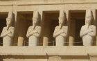 Osiride statues of Hatshepsut, Mortuary Temple of Hatshepsut, Thebes, Egypt