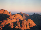 Mount Sinai at sunrise, Egypt