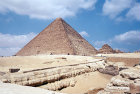 Pyramid of Khufu known as the Great Pyramid or Pyramid of Cheops, Giza, Egypt