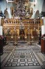 Egypt, Mount Sinai, St Catherines Monastery, interior of Church of The Transfiguration
