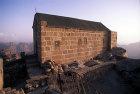 Egypt, Sinai, Greek Orthodox Chapel on summit of Mount Sinai, Jebel Mousa
