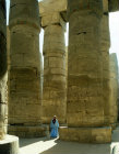 Egypt, Karnak, Temple of Amun at Karnak, the hypostyle hall