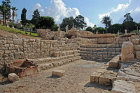 Egypt, Alexandria, Kom al-Dikka, one of several fourth century lecture halls of university near theatre