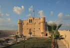 Egypt, Alexandria, Fort Quaitbey, built 1477 by Mamluk Sultan al-Ashraf Sayf ad-Din Quaitbey on site of ancient Pharos, restored