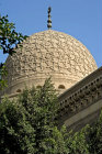 Egypt, Cairo, Northern cemetery, dome of mosque associated with mausoleum of Sultan Barsbey, 1432