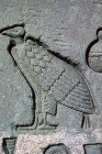 Egypt Dendera relief of a Vulture east wall
