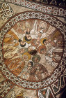 Ethiopia, Abuna Yemata Guh  church, fresco in dome of the apostles